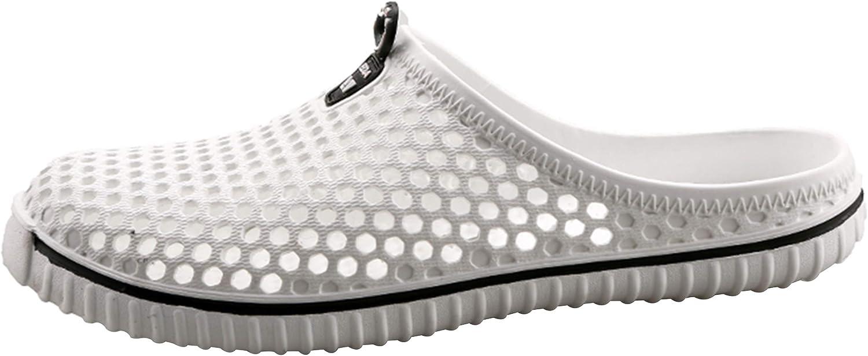 SAGUARO /Ét/é Chaussons Mules Femme Perfor/és Chaussures deau L/éger Antid/érapant Chaussures de Jardin en Plein Air