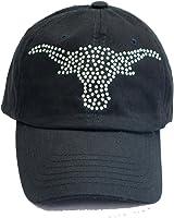 Texas Longhorns Rhinestone Baseball Visor Hat Cap
