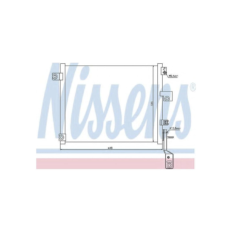 Nissens 940171 Condenser, air conditioning