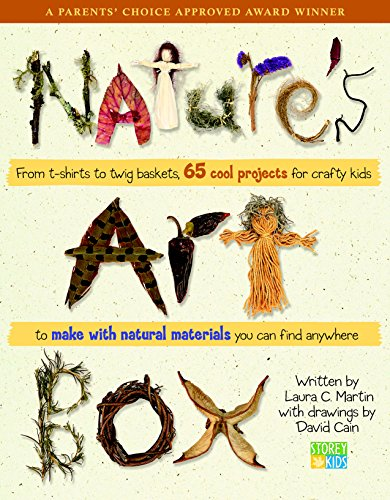 Nature's Art Box: From t-shirts to twig baskets,