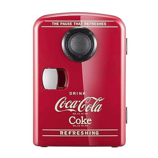 Neveras de viaje Cocá-Colá Altavoz Bluetooth Refrigerador for El ...