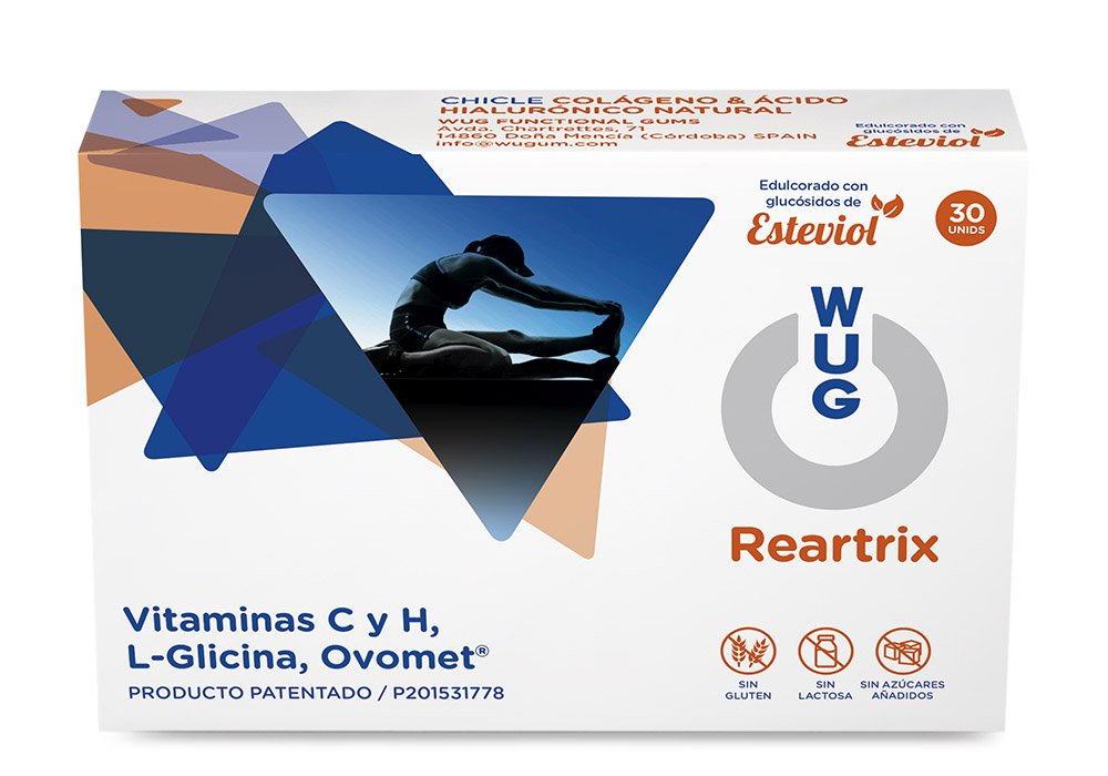 WUG Reartrix Chicle | Salud Articular, Lesiones Articulares ...