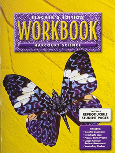 Harcourt Science Workbook, Teacher's Edition, Grade 3, Units A-F