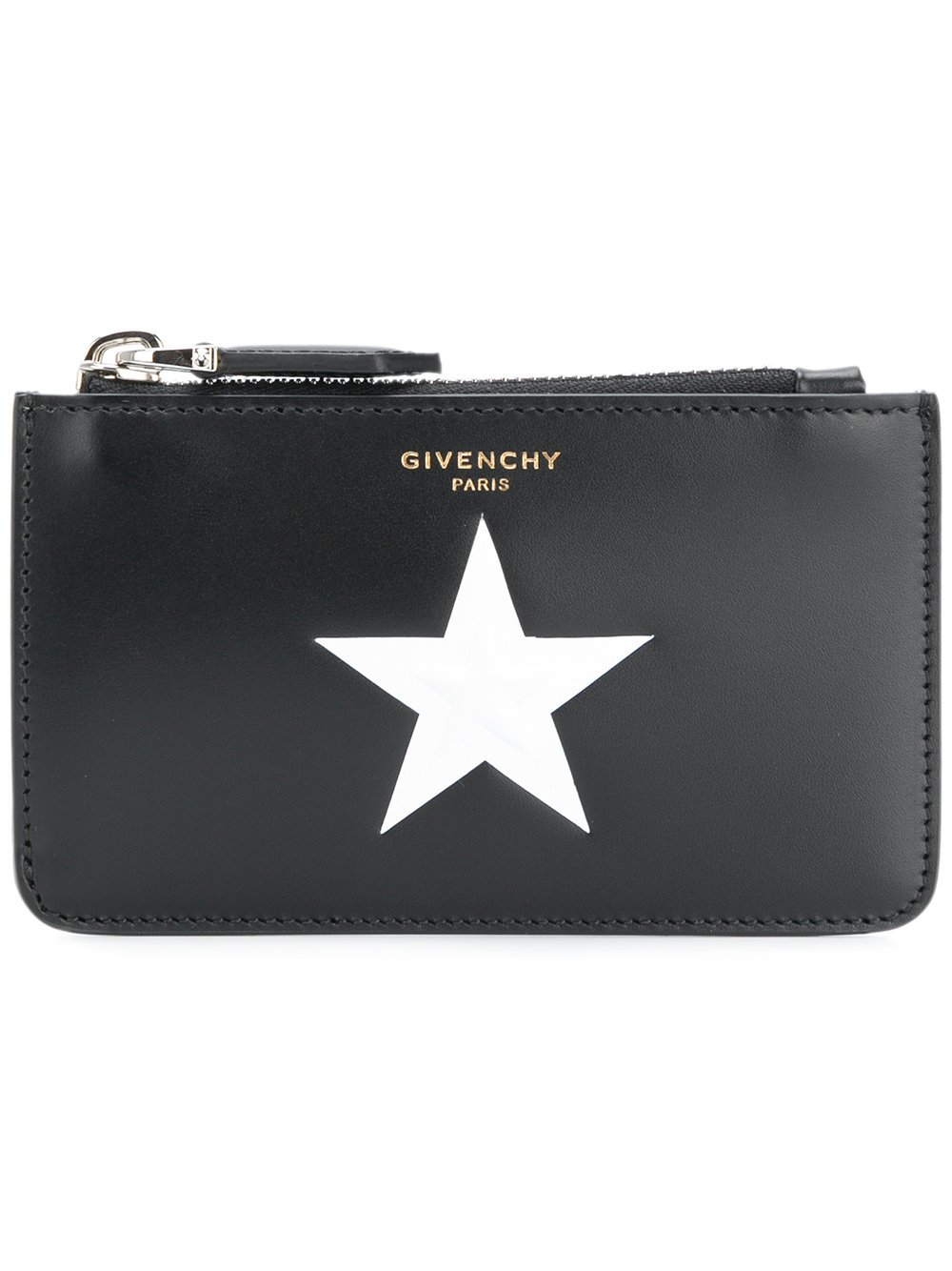 Givenchy Men's Bk6011k00e001 Black Leather Wallet