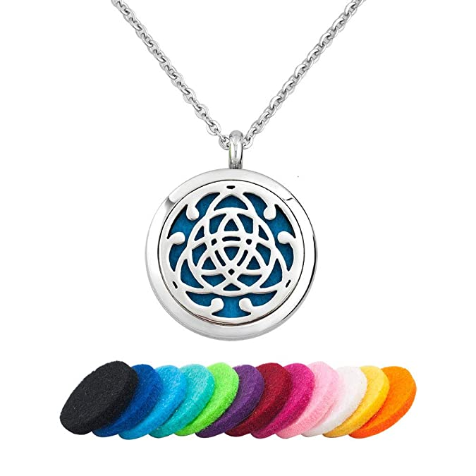Unisex Pendant essential oil pendant,purfume locket, Thor Hammer Celtic- diffuser pendant aromatherapy