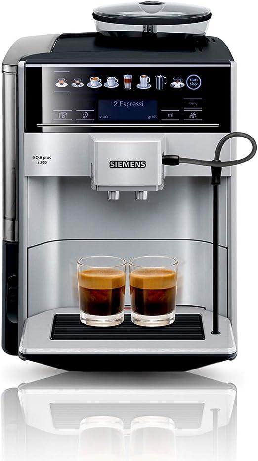 Siemens te653501de EQ. – Cafetera automática6 Plus S300, 1500 W ...