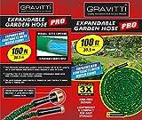 Gravitti Deluxe Expandable Garden Hose 100FtT