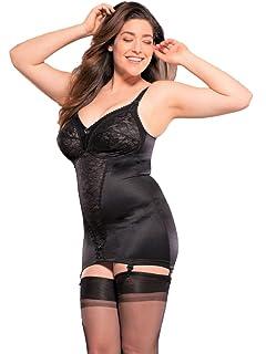 bae5e16975f Berdita Lingerie Harlow  Black Open Corselette Shapewear with Suspenders  (30003) ...