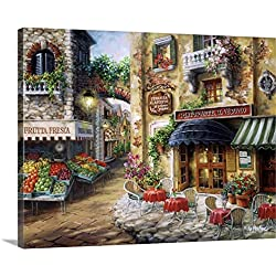 Nicky Boehme Premium Thick-Wrap Canvas Wall Art Print entitled Buon Appetito