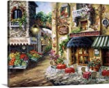 kitchen italian wall art - Nicky Boehme Premium Thick-Wrap Canvas Wall Art Print entitled Buon Appetito 30