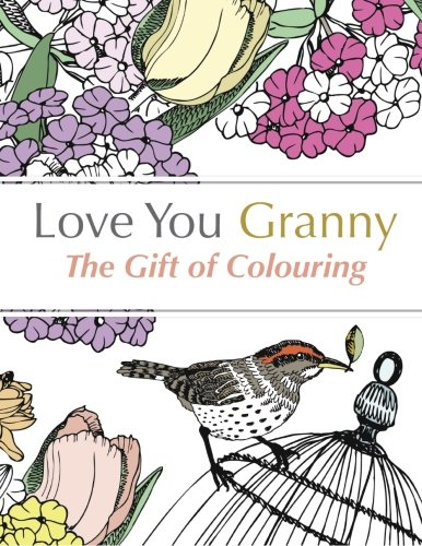 Love You Granny Colouring grandmothers