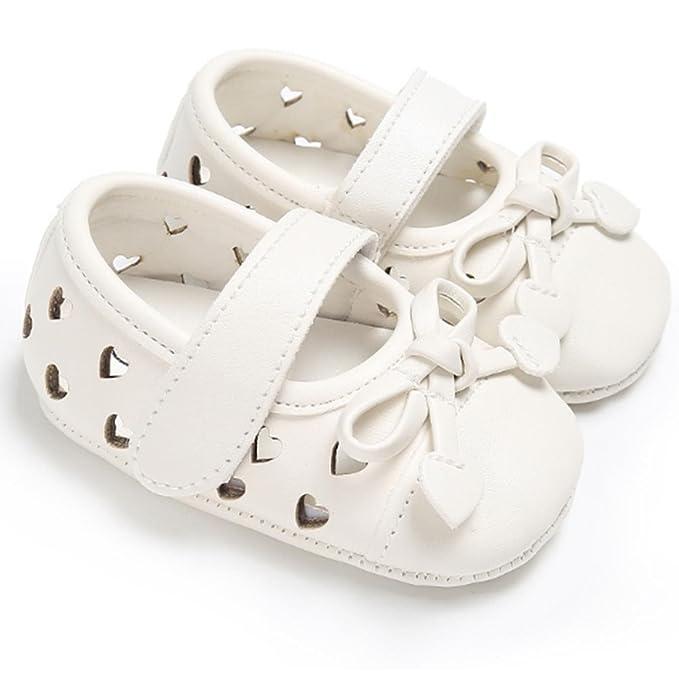 67a46741 6 pares por paquete de zapatos de piel para bebé, transpirables, en forma de