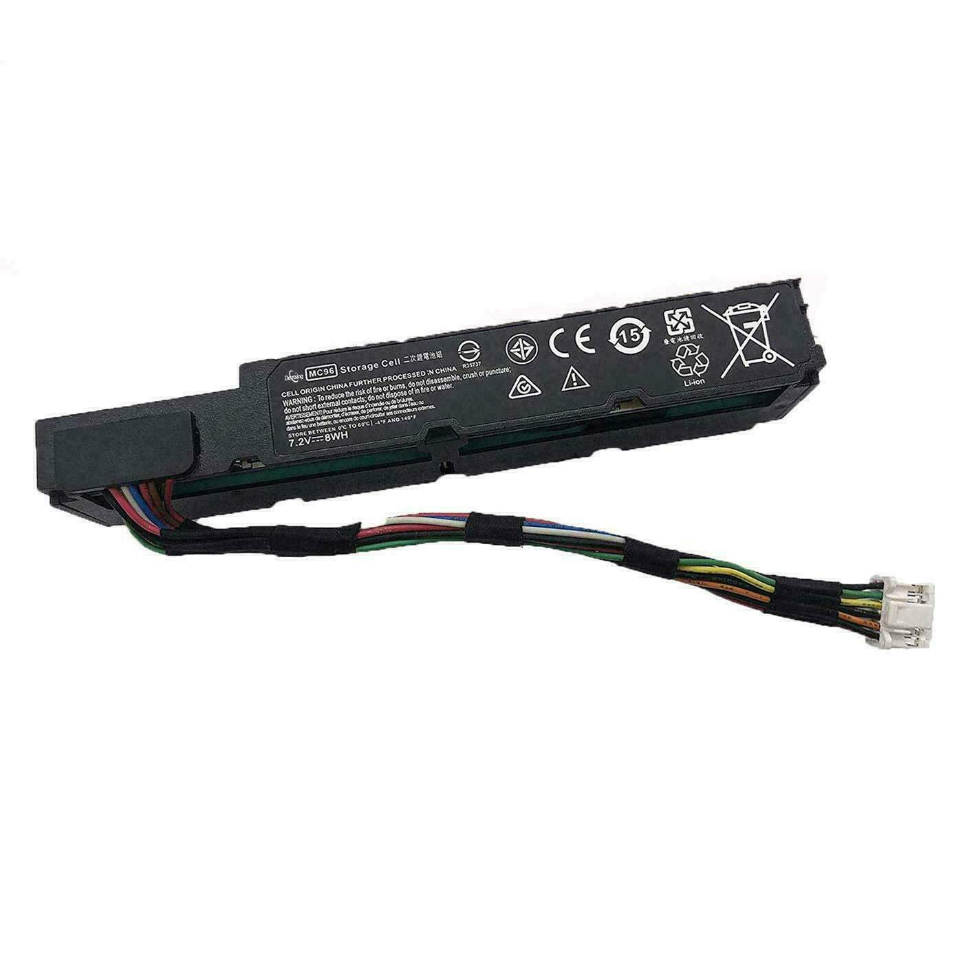Bateria Hp Mc96 7.2v 8wh 1100mah Smart Array P440ar P840ar S
