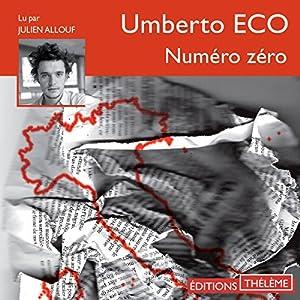 Numéro zéro | Livre audio