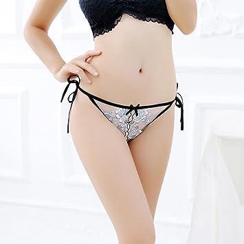 b6cfc5ca66d Amazon.com: Lightning Deals Lace Panties,ZYooh Women Sexy Super Thin Hollow  Thongs Temptation Open Crotch Underwear (White, Free Size): Baby