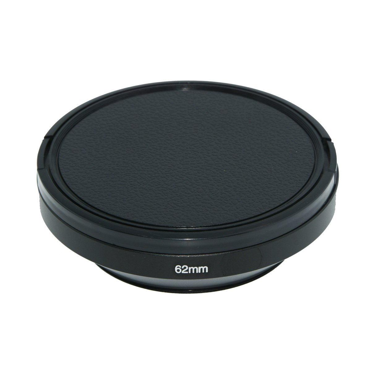 Lens Cap for Nikon Canon Sony Fuji Pentax Sumsung Leica Standard Thread Lens SIOTI Camera Wide Angle Metal Lens Hood 58mm Cleaning Cloth