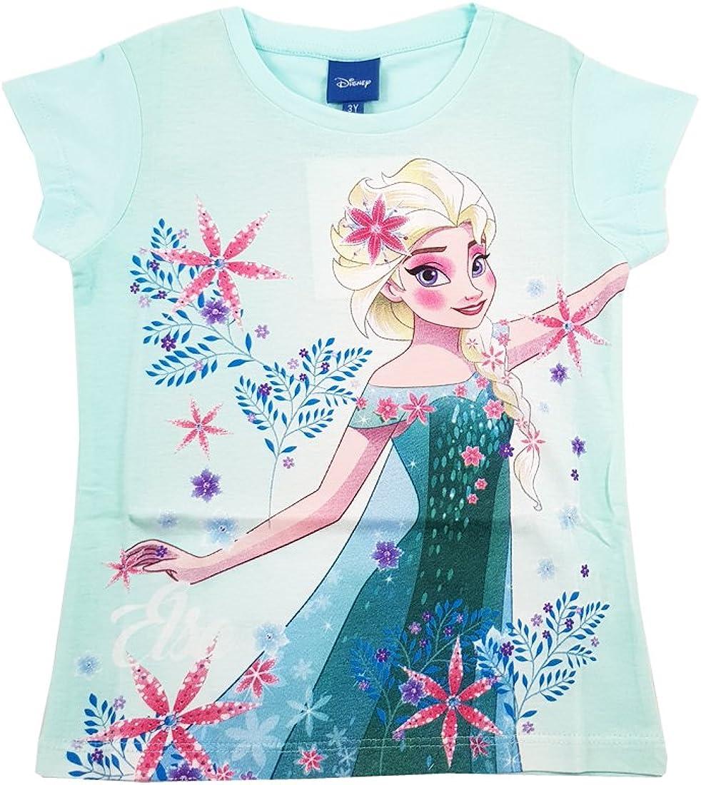 ARNETTA 45288 Maglietta t-Shirt Frozen Anna Elsa