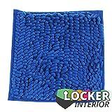 """School Locker Interior 10"""" Square Locker Fur Rug"""