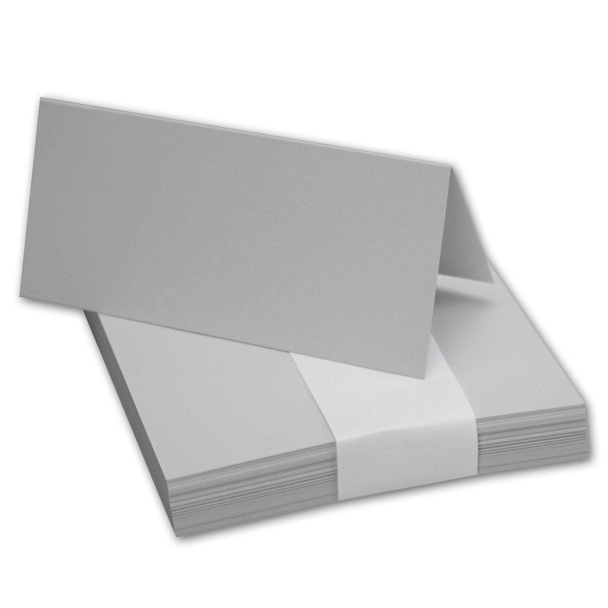 200x Tischkarten Tischkarten Tischkarten in Hochweiß I Größe  100 x 90 mm (Gefaltet 100 x 45 mm) I 240 g m² - Sehr Schwere und Stabile Qualität I aus der Serie FarbenFroh von NEUSER  B07FSFZRQ7 Kartenkartons Liste der Explosionen 782e68