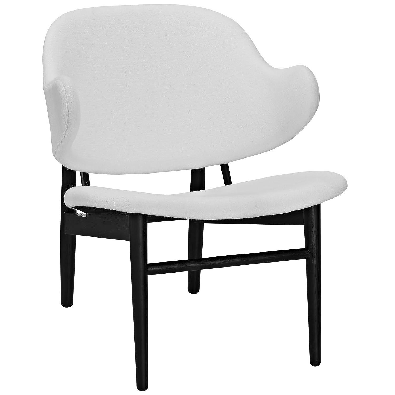 Amazon com plutus brands mf1122 lounge chair 1 5 w black white kitchen dining