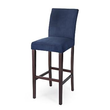 Fantastic Amazon Com Home Direct Navy Blue Contemporary Classic Set Machost Co Dining Chair Design Ideas Machostcouk