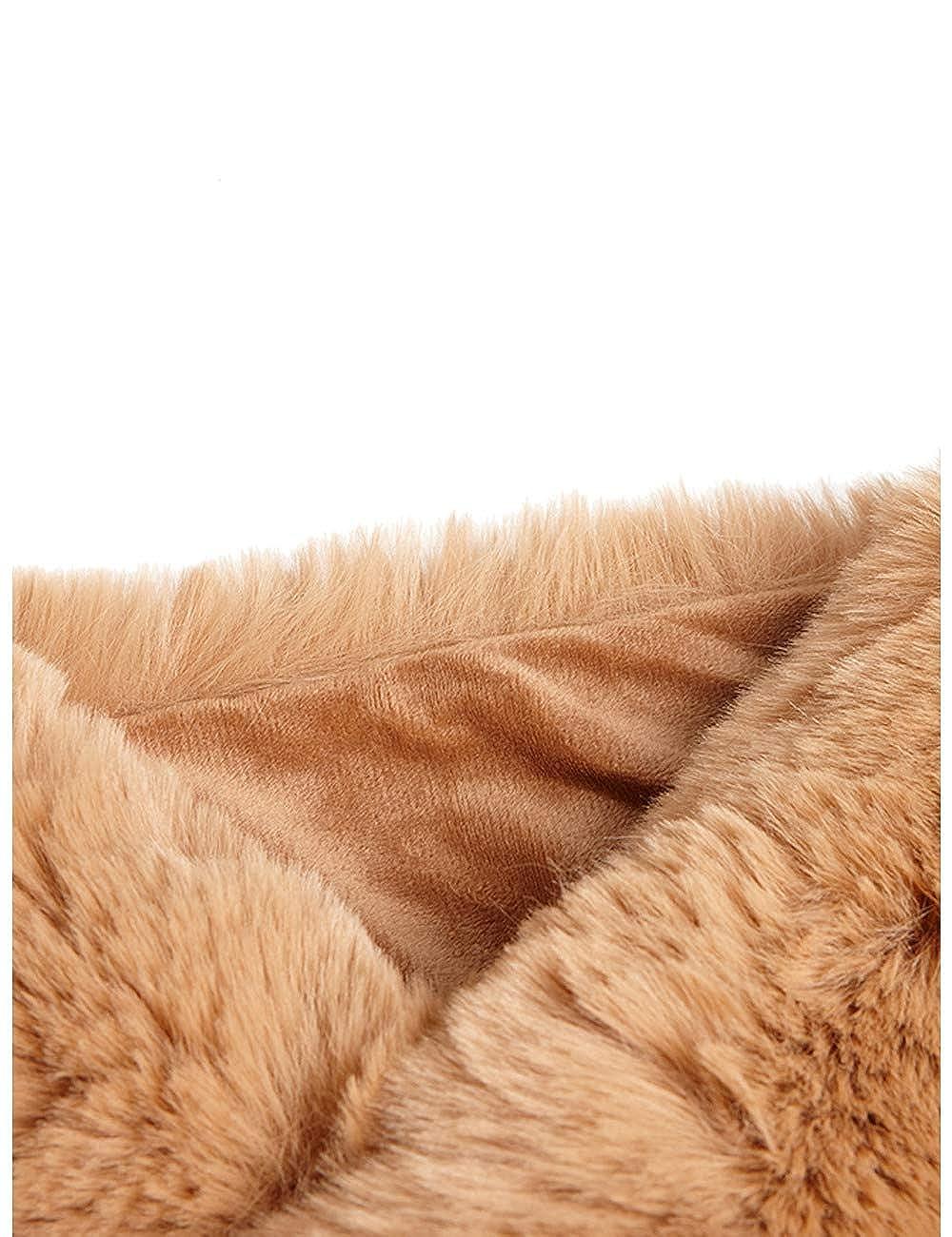 Collo in pelliccia sintetica Italian Size Motivi