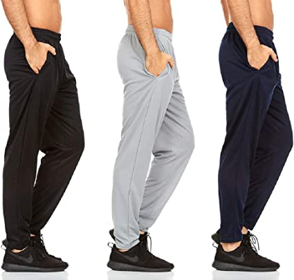Amazon.com: DARESAY Mens Active Pants with Pockets – Athletic Workout  Joggers - Multi Pack: Clothing