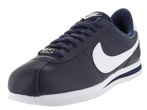 size 40 e8059 d3c0f Nike Cortez Basic Leather Casual Shoe Amazon.co.uk Shoes  Ba
