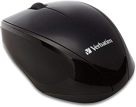 2QZ2009 Black Verbatim Wireless Multi-Trac Blue LED Optical Mouse