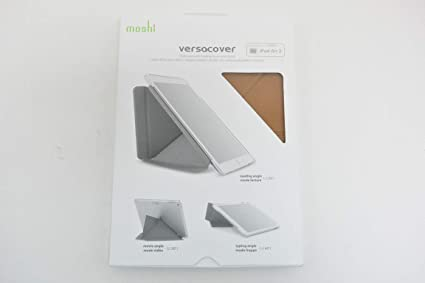 cheap for discount b91a6 49a6c Moshi VersaCover - iPad Air 2 Stand Case with Origami Cover - Almond ...