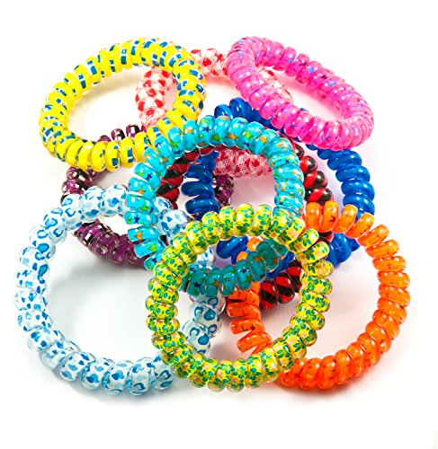 10k Pattern Bracelet - Chewable Jewelry – Bracelets – Fun Sensory Motor Aid – Speech And Communication Aid – Great For Autism And Sensory-Focused Kids – 10 Pack Pattern Design - COLORS WILL VARY