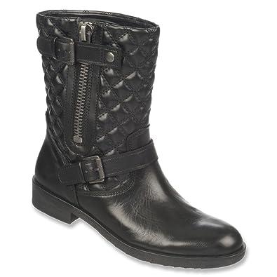 Women's Mid Calf Boots/Franco Sarto Padua Black