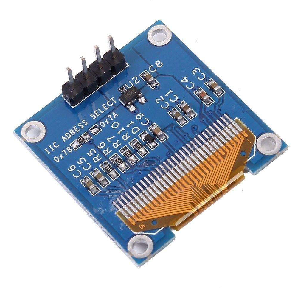 XZANTE 0,96 Zoll I2C Iic Seriell 128X64 OLED LCD Led Display Modul Ssd1306 F/ür Arduino Wei?es Wort Licht