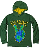 Wes and Willy Big Boys' L/S Imagine Jersey Hoodie