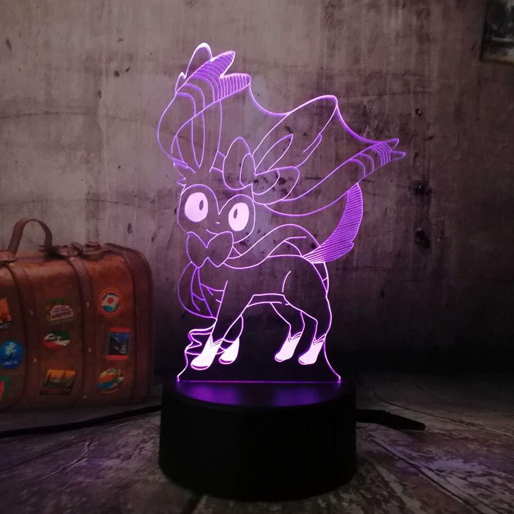 Nuevo juego de Pokemon Go en 3D Color Pretty Fairy Sylveon ...