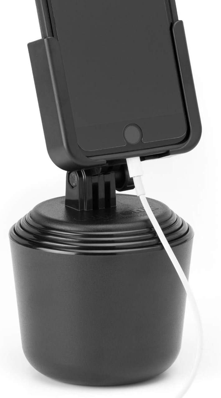 Weathertech Cupfone Universal Support Für Smartphones Geeignet Für Jeden Fahrzeugbecherhalter Geeignet Für Alle Gängigen Handys Auto