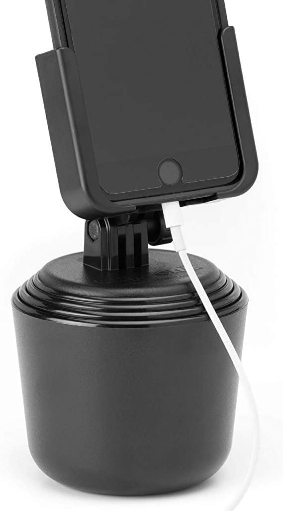 Amazon Com Weathertech Cupfone Universal Car Phone Mount Hands Free For Iphone Smartphone Cell Phone Cup Holder For Car Auto Vehicle Accessories