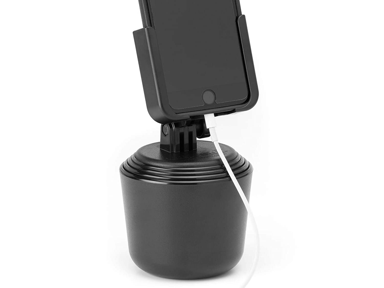 8ece77ddfc6d4 Amazon.com  WeatherTech CupFone -Universal Adjustable Portable Cup Holder  Car Mount for Cell Phones  Cell Phones   Accessories