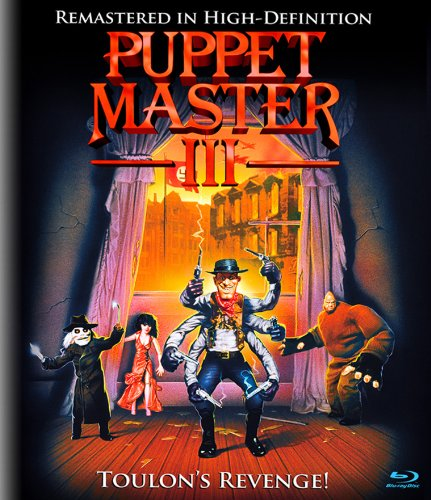 Blu-ray : Puppet Master 3 (Remastered)