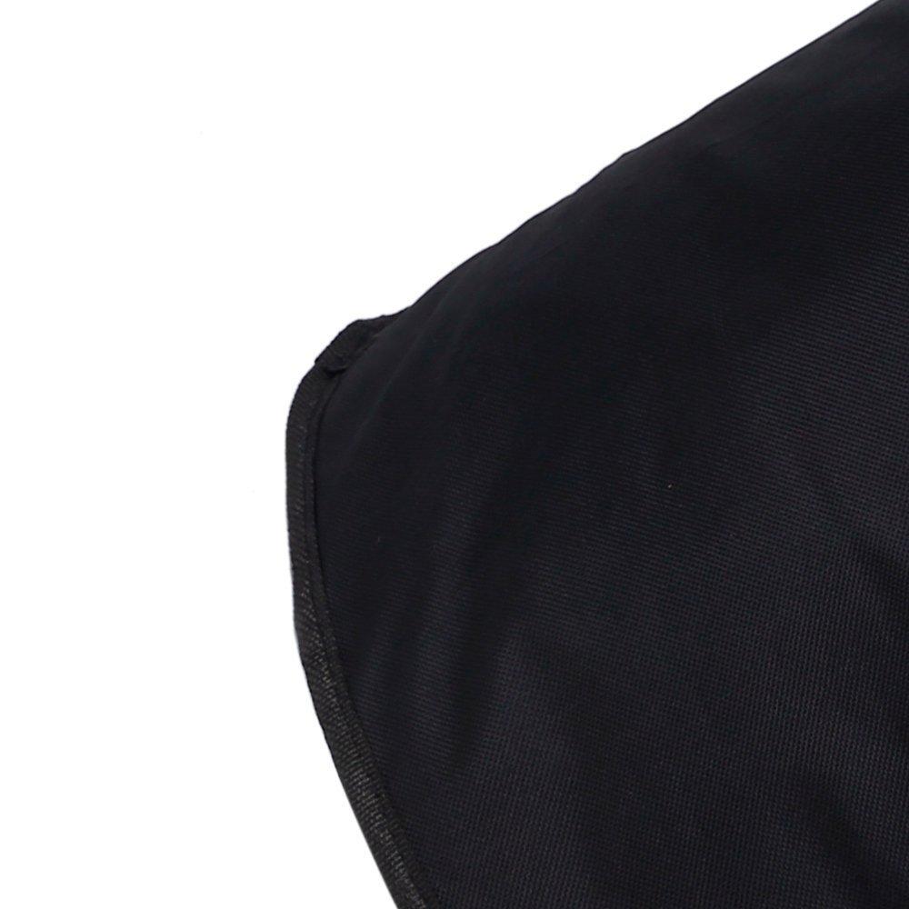 Jebblas Large Laundry Basket, Collapsible Fabric Laundry Hamper, Foldable Clothes Bag, Folding Washing Bin,Black