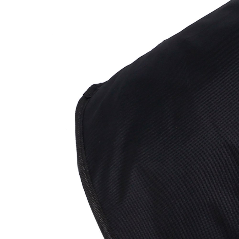 Jebblas Large Laundry Basket, Collapsible Fabric Laundry Hamper, Foldable Clothes Bag, Folding Washing Bin,Black by Jebblas (Image #1)