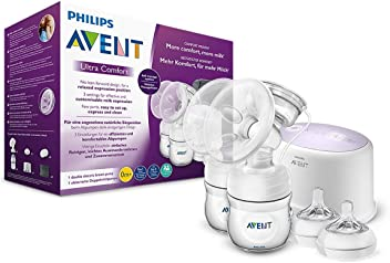 Philips avent scf334/31 tire-lait electrique double natural