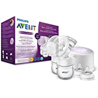 PHILIPS AVENT SCF334/31 TWIN ELECTRIC BREAST PUMP (Silent), natural