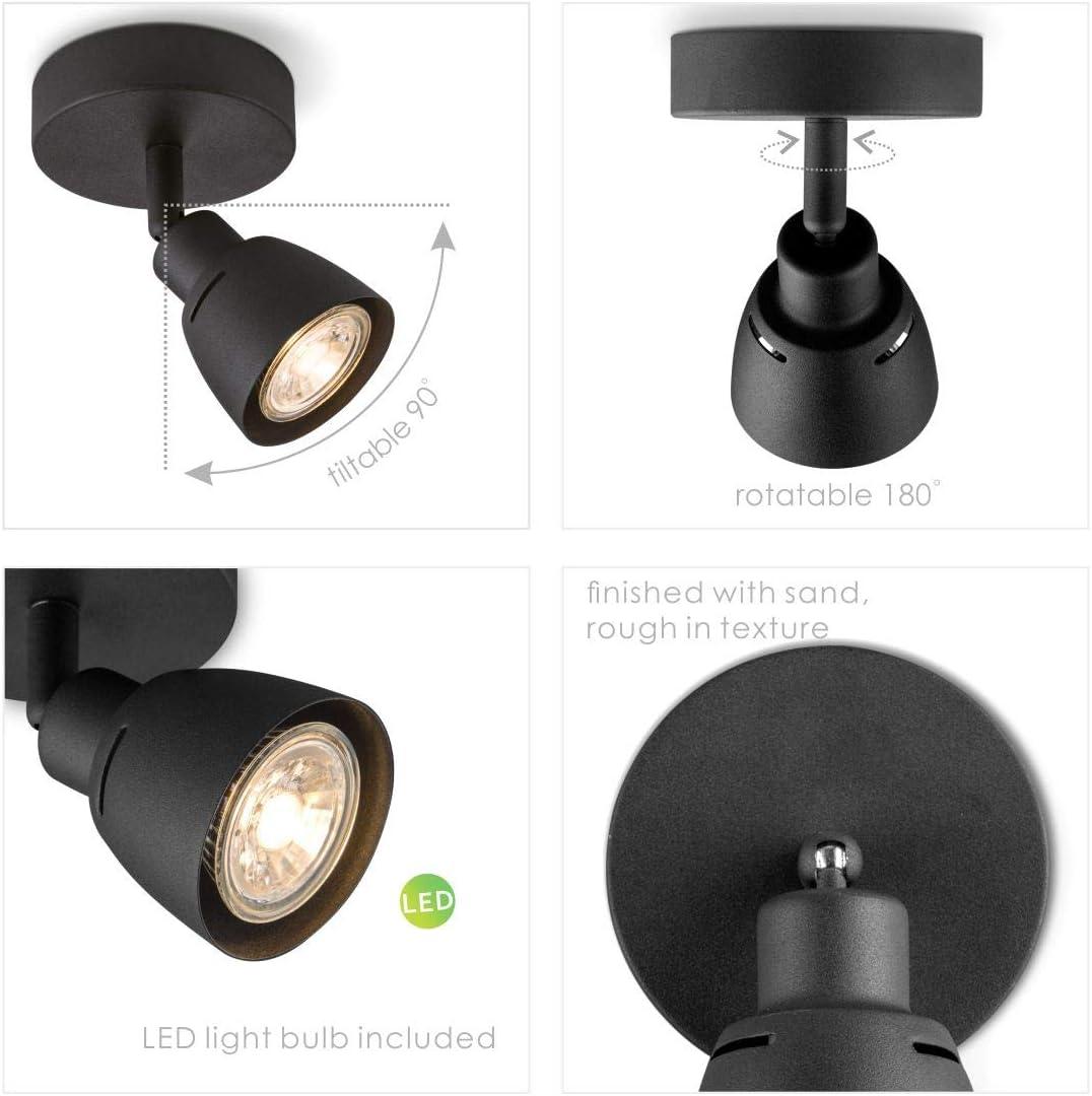 3/Changement de Mode Lixada LED Lampe de Poche Lampe de Poche Lampe Torche LED Lampe de Camping de 9/Volts Taille compacte Ultra Lumineux 6/Ampoules LED