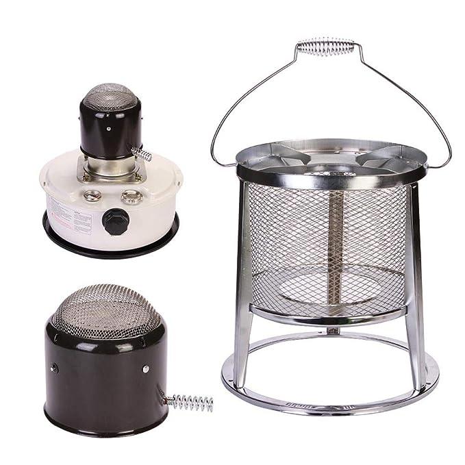AIMERKUP Calefacci/ón Estufa Hogar Queroseno Estufa Calentador Calentador Interior