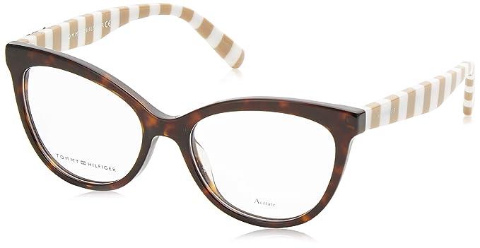 Tommy Hilfiger Mujer TH 1481 9N4 52 Gafas de sol, Marrón ...