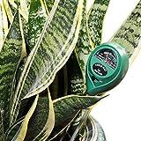 Amado Soil pH Meter, 3 in 1 Soil Tester Kit for