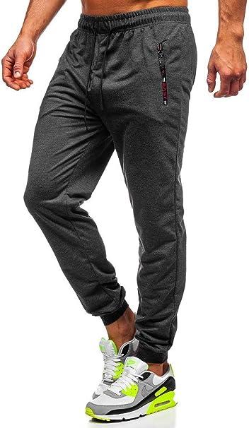 Jogginghose Trainingshose Hose Sporthose Slim Fit Fitness Herren BOLF 6F6 Basic