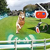 Portable Wireless 2 Dog Fence, NO WIRES TO BURY-800FT Containment System, The 3nd Greneration, DT-WLJK2