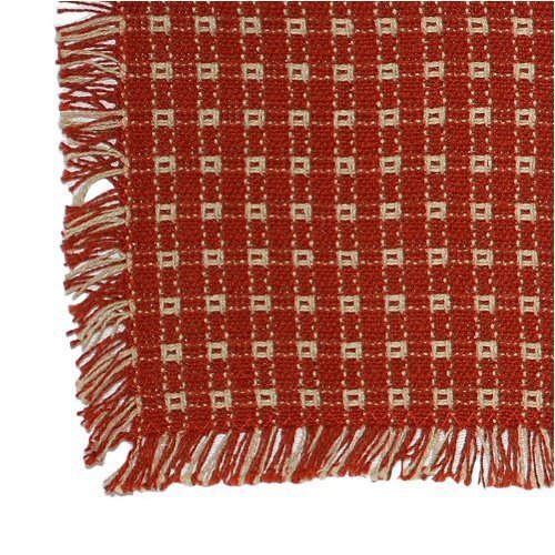 18 X 18 Hand Loomed Homespun Napkins (Set of 4) Cinnamon/Stone by Mountain Laurel Mercantile: Amazon.es: Hogar